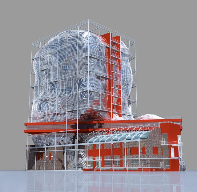 Проект реконструкции и строительства зданий ГЦСИ
